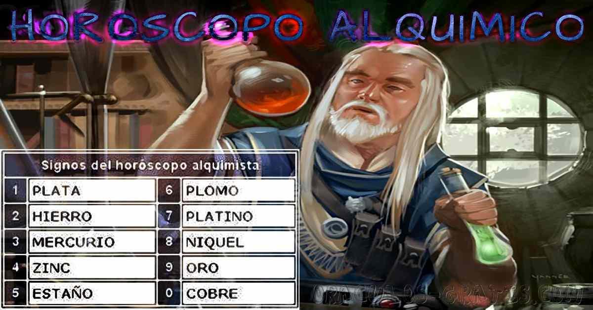 Horóscopo de la Alquimia