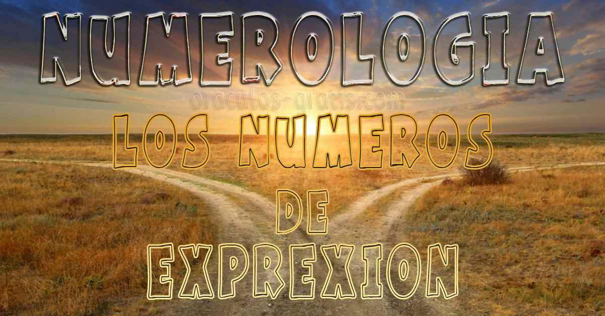Numerologia de Expresion