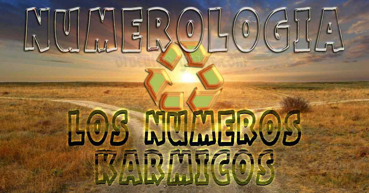 Numerologia Karmica