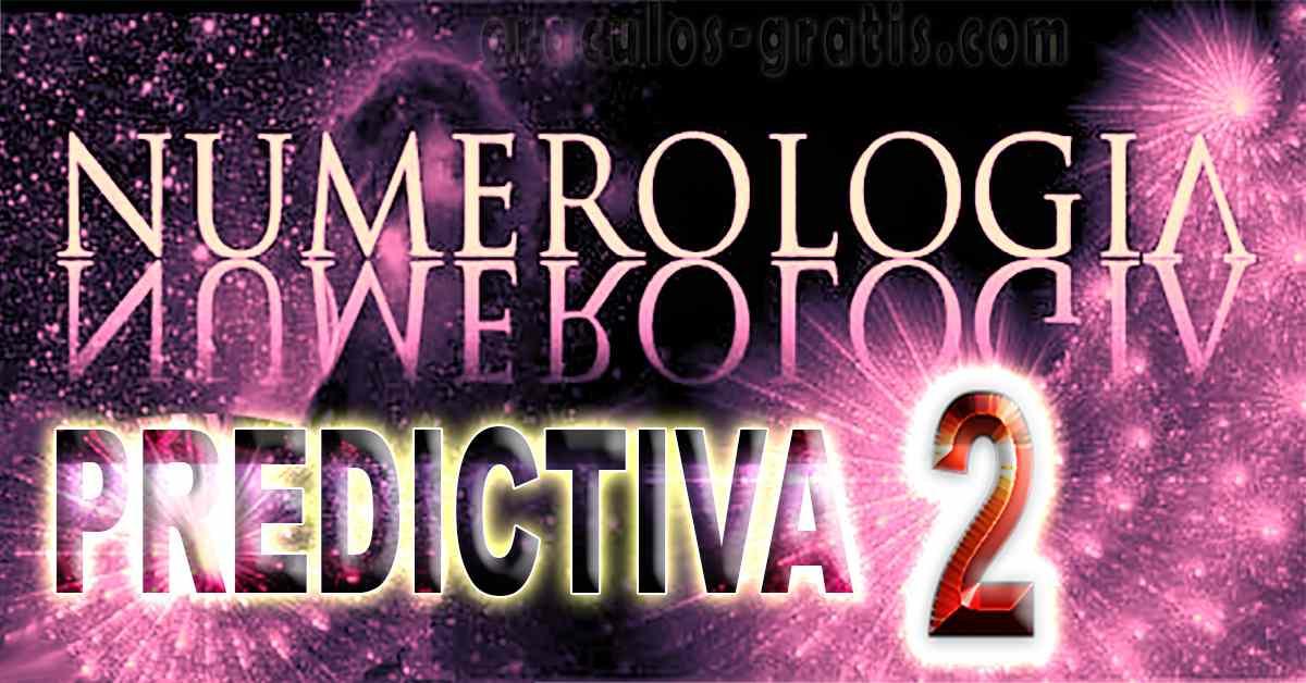 Tarot Numerología del futuro numero 2
