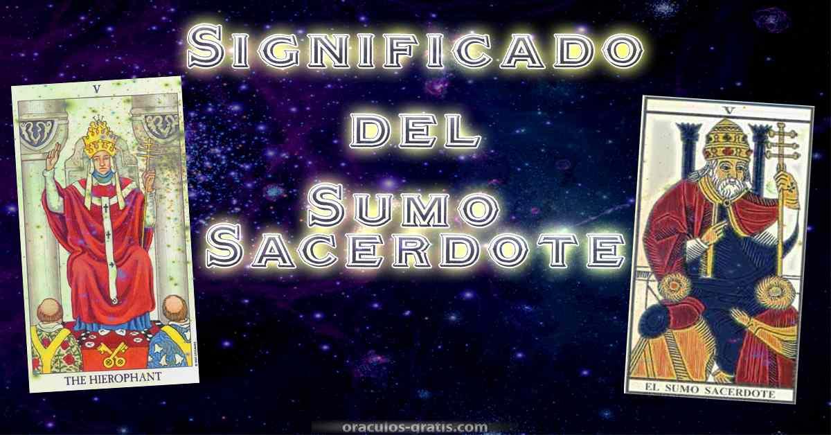 Significado e interpretacion del Sumo Sacerdote